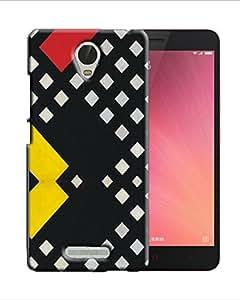 PrintFunny Designer Printed Case For XiaomiRedMiNote3