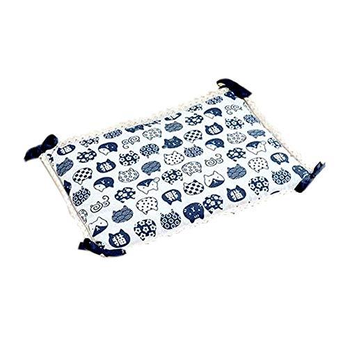 Preisvergleich Produktbild cubicde Sommer Haustier kühlmatte Gedruckt Atmungsaktive Wasserdichte Haustier Pad Katze Hund Bett Kissen zwinger