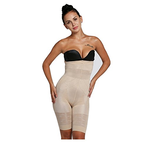 Befied Pantaloncino Snellente Pantaloncini Dimagranti Vita Alta Guaina Contenitiva e Modellante Shaper Push Up Mutande Contenitive