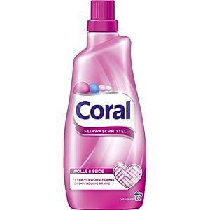 Coral Wolle und Seide