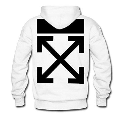 Imagen de off white men's hoodies  small