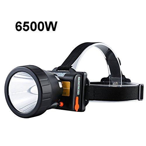 MUTANG LED Angeln Scheinwerfer Blitze Wiederaufladbare Helle Wasserdichte Bergmannkopf Taschenlampe Langstrecken Suchscheinwerfer 2500W.2800W, 6500W (Farbe : C)