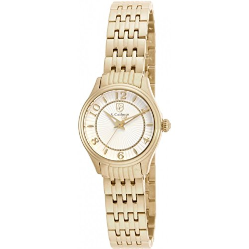 S Coifman SC0343 Ladies Gold Plated Bracelet Watch