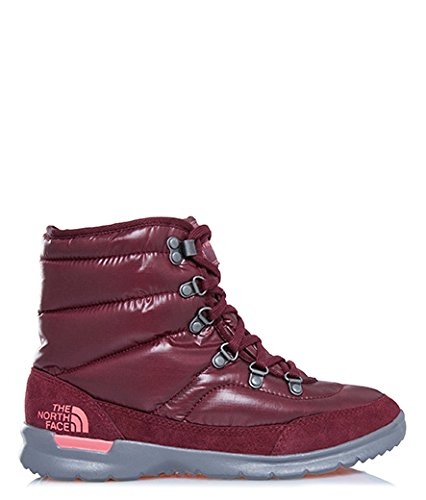 The North Face Damen W Thermoball Lace Ii Wanderschuhe Multicolore (Nero/Shdpgrtrd/Clycr)