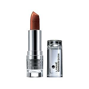 Lakme Enrich Satins Lip Color, Shade M454, 4.3g