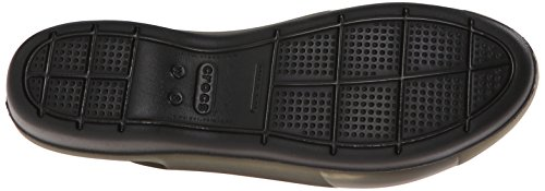 Crocs Colorblock slingback piatto Black/black