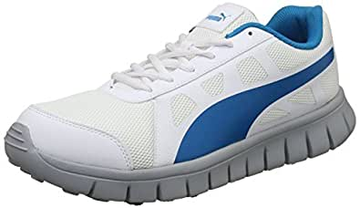Puma Unisex's White-Hawaiian Ocean-Quarry Running Shoes-10 (19163701)