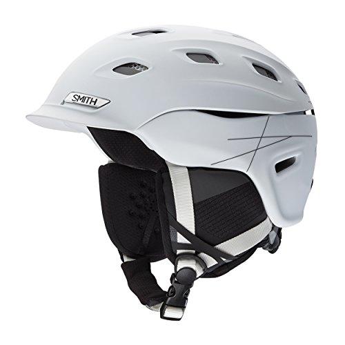 SMITH Erwachsene Skihelm Vantage M, Matte White, 55-59 cm, E00655Z7R5559 (Smith Erwachsenen Ski-helm)