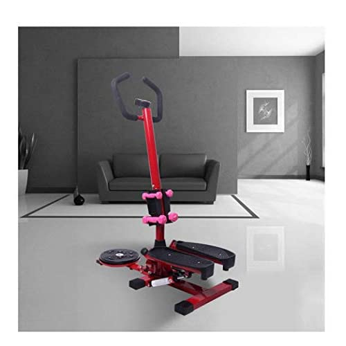 LY-01 Steppers Stepper With Armrests,mute Multi-function Stepper Hydraulic Climbing Stepper Pedal Exercise