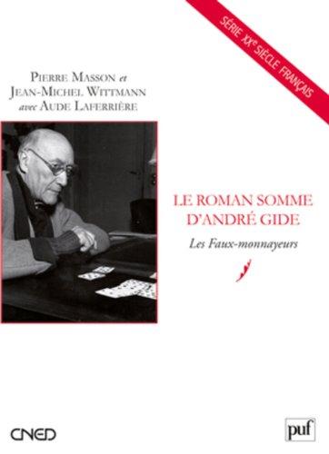 Le roman somme d'André Gide