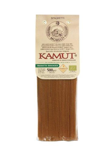 100% Kamut Spaghetti – ORGANIC – 500g (Pack of 5)