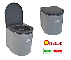 Giganplast WC Chimico Camper, Grigio