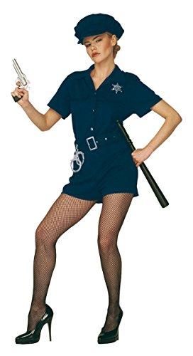 Widmann Aptafêtes--Kostüm Cop Damen