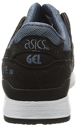 Asics Gel-Lyte Iii, Scarpe da Corsa Unisex – Adulto Nero (Blue)