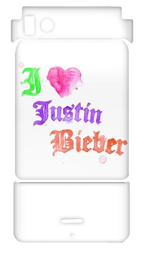 Zing Revolution MusicSkins Schutzfolie, ms-jb230151, Justin Bieber-Watercolor, Motorola Droid X/X2, Haut
