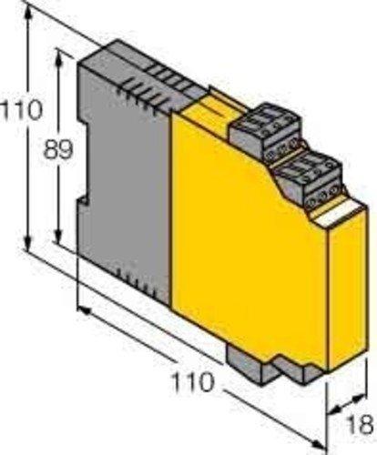 Turck Messumformer-Speisetrenner IM33-22EX-HI/24VDC Gleichstromversorgung 4047101117141