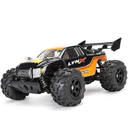 DingLong 30km/h Ferngesteuertes Auto, 1/22 Maßstab RC Auto 2.4Ghz Ferngesteuertes Hochgeschwindigkeits-Kletterauto Auto Rennbuggy Fahrzeug Spielzeug Funkgesteuert Auto (Orange)