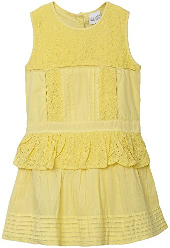 FS Mini Klub Girls' Regular Fit Dress (88KGODR0686 YELLOW 1_4 - 5 Years, Yellow, 4 - 5 Years)  available at amazon for Rs.269