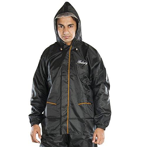 Newera Galaxy Polyester Raincoats for men(galaxy_bk)