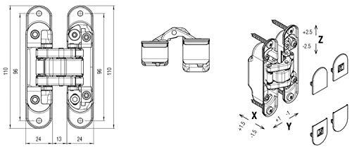Scarico SCOM.30.1.4RT Impianto Completo Omologato per Scooter Yamaha Majesty 125 2001//06 4Road Round GPR Exhaust System
