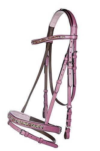 HKM SPORTS EQUIPMENT Little Sister Reittrense -Santa Fe-, rosa, Pony