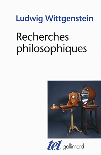Recherches philosophiques (Tel) por Ludwig Wittgenstein