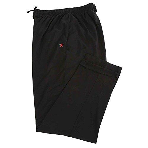 Pantalone tuta taglie forti uomo leggero Maxfort PRAGA - Nero, 9XL