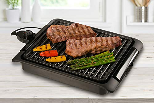 BEST DIRECT Starlyf Smokefree Grill Griglia No Fumo Carne E Verdure Grigliate Cucina Barbecue (Griglia Elettrica)