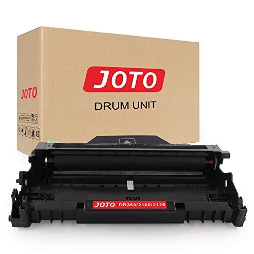 JOTO DR2100 Trommel Kompatibel für Brother DR2100 DR-2100 Trommel Hohe Kapazität Ersatz für Brother DCP-7030 DCP-7032 DCP-7045N DCP-7040 HL-2140 HL-2170W HL-2150N MFC-7320 W MFC-7440 MFC-7340