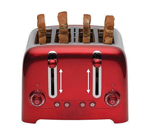 Dualit 4 Slot Lite Metallic Toaster Red At Shop Ireland
