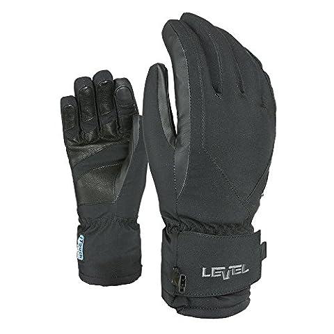 Level Alpine Line, Women I-Super Radiator W Gore Tex Glove, Black, 6
