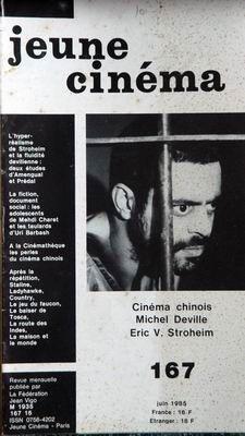 Le Jeune Staline - JEUNE CINEMA N° 167 du 01-06-1985 STROHEIM