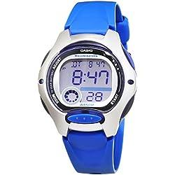 Montre Femme Casio Collection LW-200-2AVEF, Bleu, taille unique