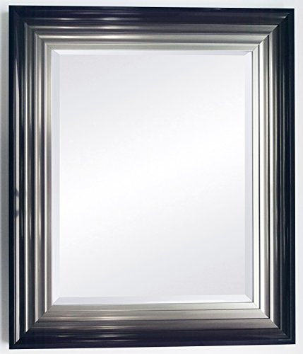 large-firenza-black-and-silver-mirror-with-4mm-bevelled-mirror