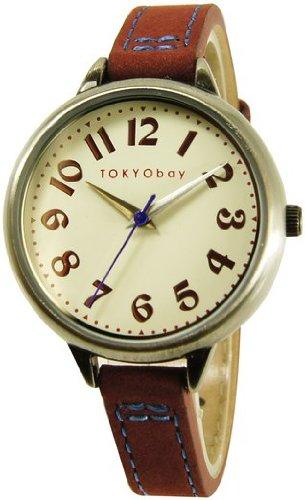 tokyobay-t360-rd-damen-edelstahl-lederband-weisses-zifferblatt-watch
