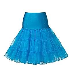 "Boolavard Tm 50's 1950's 26"" Rockabilly Petticoat Underskirt Retro Vintage Swing"