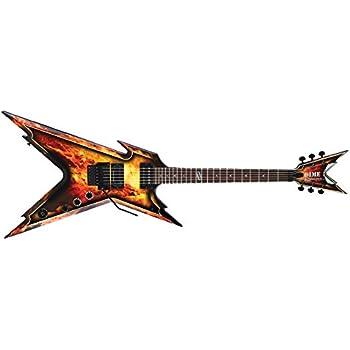 Dean Guitars RZR EXPL Razorback - Explosion mit Case