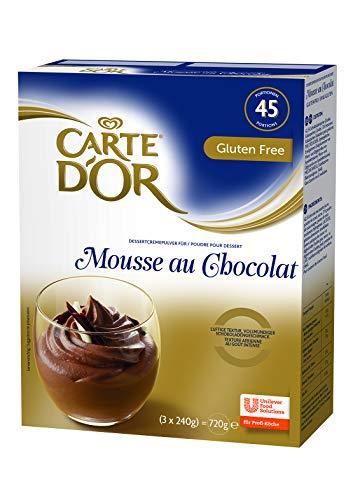 Carte D\'or Mousse au chocolat, 1er Pack (1 x 720g)