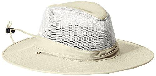 Dorfman Pacific - Safari Hut von Solarweave für Herren - Beige (Hut Dorfman Baumwolle Pacific)