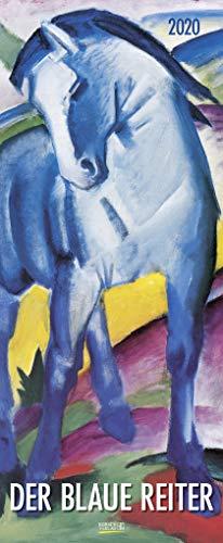 Der Blaue Reiter 2020: Kunstkalender mit Werken der Gruppe der blaue Reiter, Expressionismus. Wandkalender im Hochformat: 28,5 x 69 cm, Foliendeckblatt