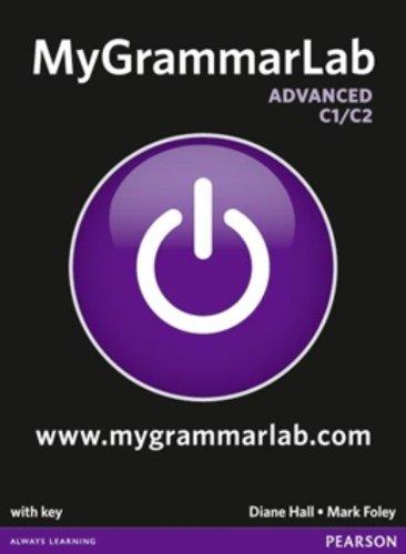 Buchseite und Rezensionen zu 'MyGrammarLab Advanced with Key and MyLab Pack (MyGrammarLab Global)' von Diane Hall
