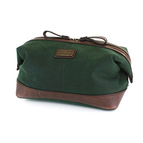 des-100-en-cuir-veritable-et-de-qualite-langdale-cire-serge-lavage-sac-poche-a-fermeture-eclair-vert