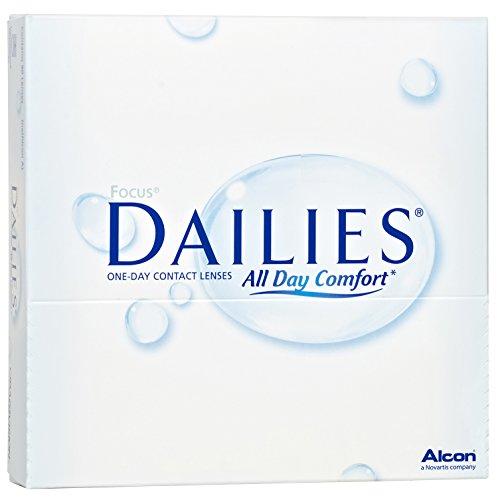 Focus Dailies All Day Comfort Tageslinsen weich, 90 Stück / BC 8.6 mm / DIA 13.8 / -2,50 Dioptrien - 2