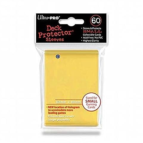 Ultra Pro 82970 - Deck Schutz Small Sleeves 60, gelb