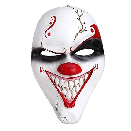 Crazy Genie Classic Collection Masquerade Kostüm-Partei Cosplay Harz maske (Big ()
