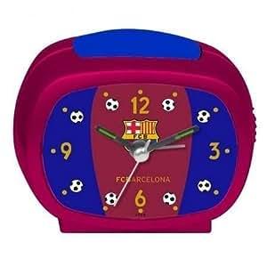 Reveil matin Alarme horloge FC Barcelone Barça officiel-Grenat, cadeau foot