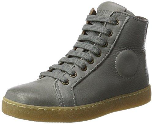 Bisgaard Unisex-Kinder Schnürschuhe Hohe Sneaker, Grau (409 Grey), 35 EU