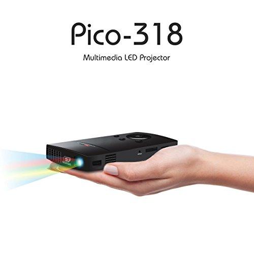 Portronics Pico POR-318 Portable Projector (Black)