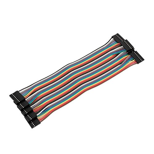 20cm 2,54mm Pin Buchse zu Buchse Anschluss Jumper Wire-Kabel 5PCS 5-wire-buchse