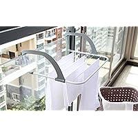 LATKALO Drying Rack Hanging||Plastic Folding Clothes Towels Drying Rack Hanging On The Door Window||The Door Bathroom…